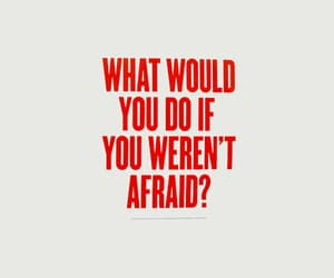 quotes, afraid, and text image