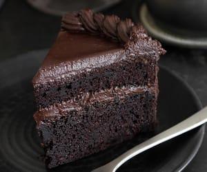 cake, sweets, and chocolate image