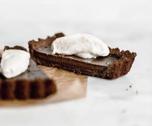 chocolate, cream, and food image