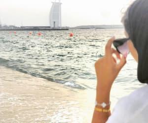 sea, travel, and dubaï image