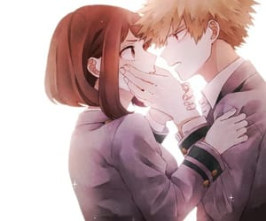 anime couple and kacchako image