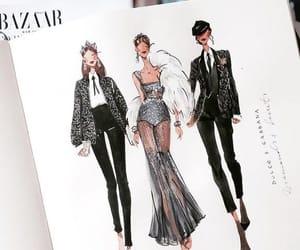 fashion, art, and runway image