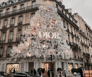 dior, christmas, and paris image
