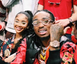 couple, quavo, and saweetie image