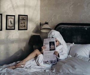 beauty, bedroom, and girl image