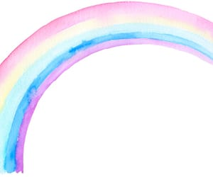 arcoiris, png, and overlays image