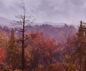 autumn, cloudy, and fallout image