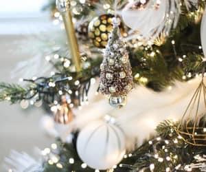 christmas, christmas tree, and christmas decorations image