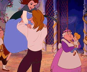 beauty and the beast and gif image