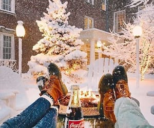 christmas, coca cola, and december image