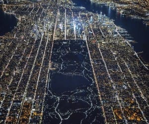 night, usa, and manhattan image