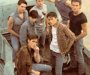 movie, the outsiders, and brat pack image
