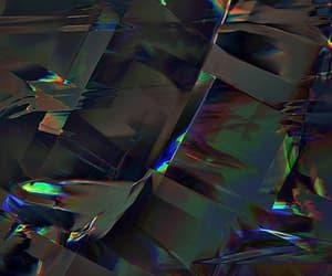 crystal, rainbow, and gif image