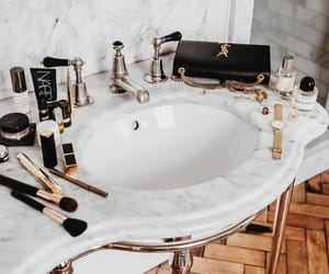 luxury, makeup, and vogue image