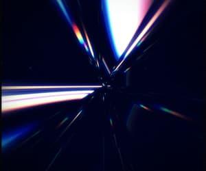 crystal, rainbow, and vintage image