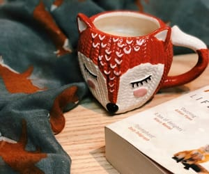 books, cafe, and coffee image