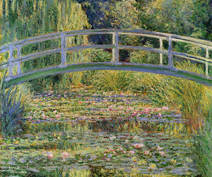 art, monet, and painting image