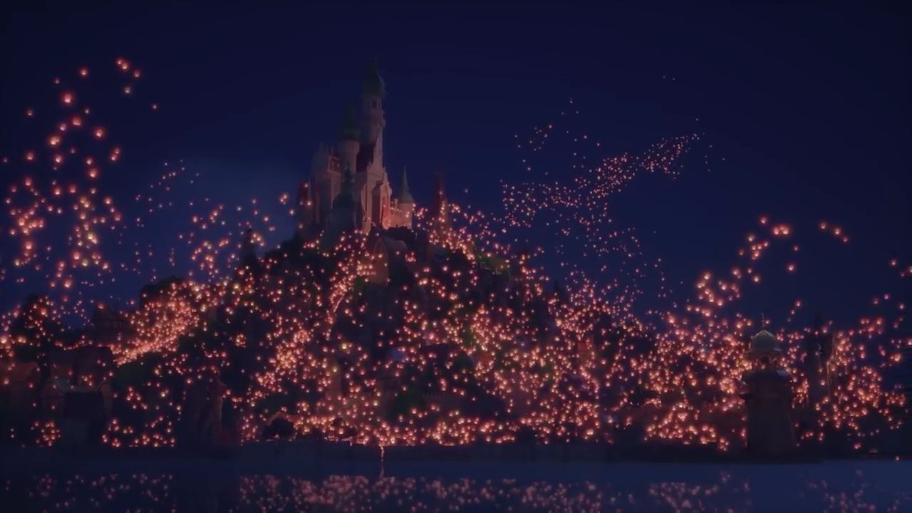 I Want To See The Floating Lights Rapunzel Tangled Screenshot From Kh3 Together Trailer