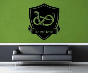 crest, wallart, and walldecal image