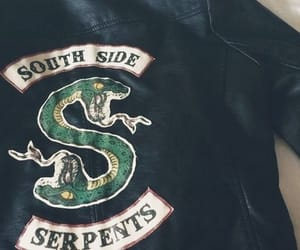 riverdale, serpent, and jacket image