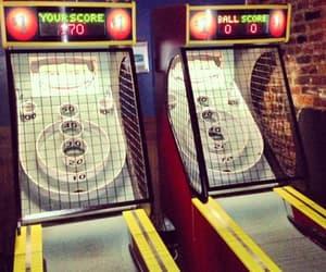 arcade, lights, and play image