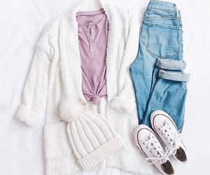 converse, cozy, and jeans image