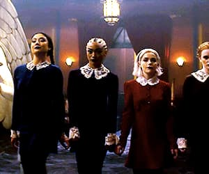 blonde, witch, and sabrina spellman image