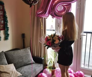 birthday, flowers, and rose image
