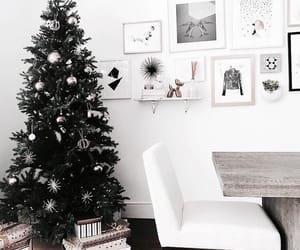 christmas, home, and white image