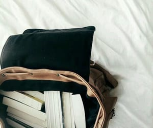 book bag, book aesthetic, and books image