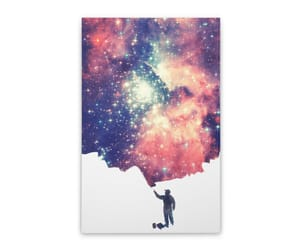 canvas, galaxy, and outer space image