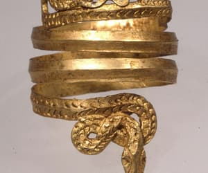 ancient, jewelry, and snake jewelry image