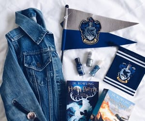 harry potter, ravenclaw, and book image