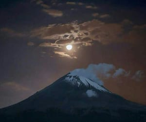 volcano, luna, and puebla image