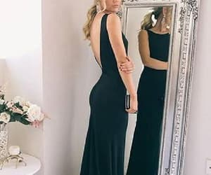 sexy prom dress, backless prom dress, and 2018 prom dress image