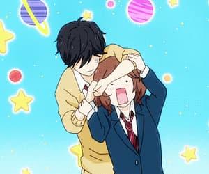 anime, anime girl, and ao haru ride image