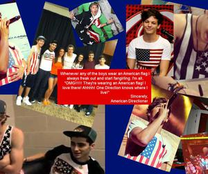 america, american flag, and 1d image