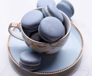 blue, food, and pastel image