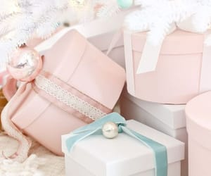 christmas, winter, and pastel image