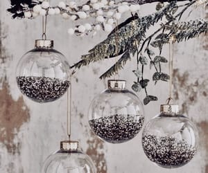 christmas, ornaments, and decoration image