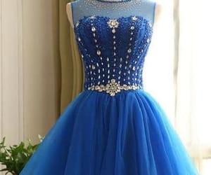 prom dresses short and homecoming dresses blue image