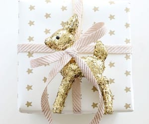 christmas, gift, and glitter image