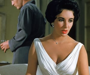 Cat on a Hot Tin Roof, Elizabeth Taylor, and paul newman image