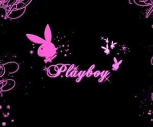 Playboy, bunny, and pink image