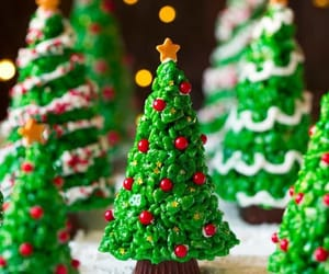 christmas and christmas tree image