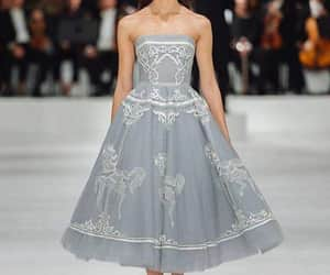 catwalk, design, and gown image