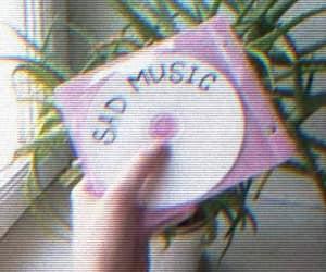 music, sad, and grunge image