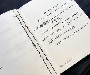 deutsch, german, and Lyrics image