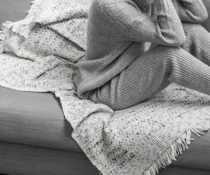 winter style, all grey, and lounge outfit image