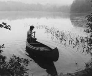 boat, boy, and water image